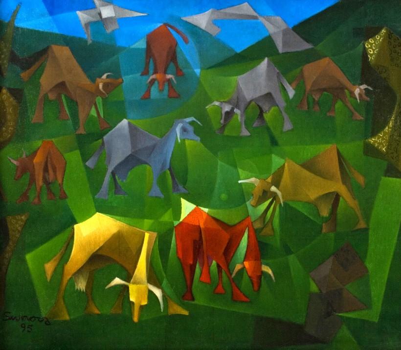 Les Vaques, 1995